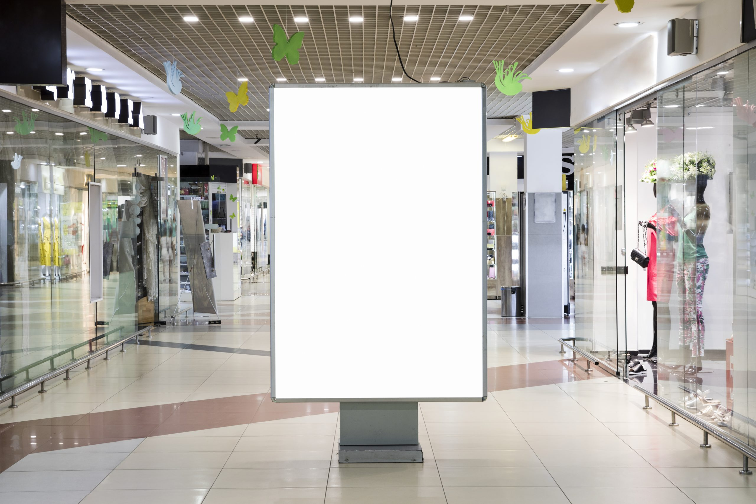 blank-advertising-sign-mockup-inside-shopping-center